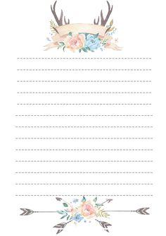 Stationary Printable, Printable Paper, Planner Pages, Planner Stickers, Diy And Crafts, Paper Crafts, Notebook Paper, Journal Paper, Stationery Paper