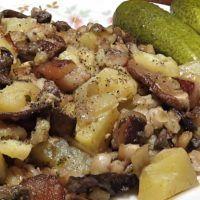 Recept : Táborský maňas   ReceptyOnLine.cz - kuchařka, recepty a inspirace Gnocchi, Potato Salad, Potatoes, Ethnic Recipes, Potato