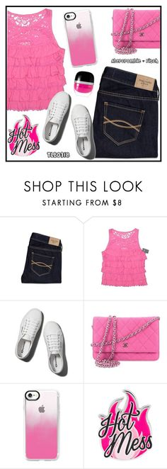 """""""A Little Bit of """"Abercrombie & Fitch"""""""" by tlb0318 ❤ liked on Polyvore featuring Abercrombie & Fitch, Chanel, Casetify and Marc Jacobs"""