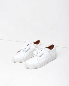 Acne Studios | Adriana Patent Sneaker | La Garçonne