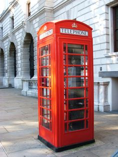 Phone Booth in England