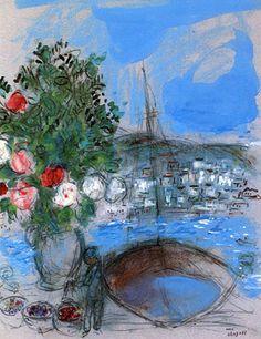 Marc Chagall Poros 1954