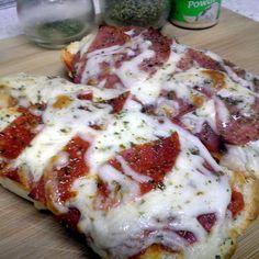 Grilled Pizza Sandwiches (Sandwich Machine) recipe - allthecooks.com