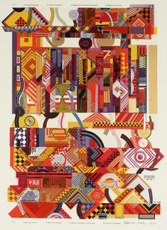 Sir Eduardo Paolozzi 'Experience', 1964 © The Eduardo Paolozzi Foundation Jasper Johns, Roy Lichtenstein, Robert Rauschenberg, David Hockney, Pop Art, Andy Warhol, Illustrations, Illustration Art, Richard Hamilton