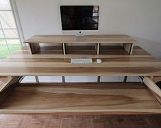Custom Minimalist Industrial Desk or Recording