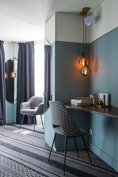 Доротея Мейлихсон (Dorothée Meilichzon) спроектировала интерьеры отеля Panache • Интерьеры • Дизайн • Интерьер+Дизайн