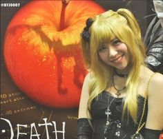 Tomomi Kasai brought Misa Amane's look and persona to life like no-one ever has before. Give or take the shinigami eyes, second Death Note and murderous predilection, the girl band JPop sensation practically IS Misa.