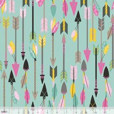 Maude Asbury - Luckie - Quills and Arrows in Turquoise