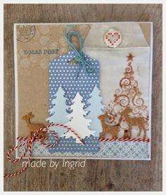 Ingrid's scrapfrutsels: Christmas in..........