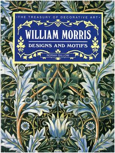 William Morris was an influential British designer, artist, poet, and radical thinker. William Morris Patterns, William Morris Art, Spray Paint Canvas, Morris Wallpapers, Underwater Painting, Art And Craft, Art Corner, Cool Books, Arts And Crafts Movement