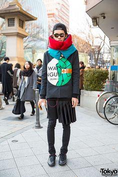 Layered Harajuku Style w/ Agi & Sam, Tender Person & Oversized Scarf