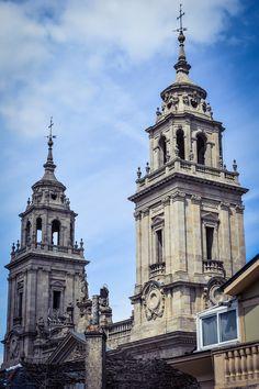 Las Dos Torres....Catedral de Santa María de Lugo (Lugo - Spain)