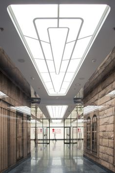 Bank Saint Petersburg | nps tchoban voss in collaboration with EGP Evgeny Gerasimov and Partners; Photo: © Aleksey Naroditsky | Archinect
