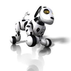 Zoomer.  Zoomer is the Perfect Family Pet!  Zoomer is an interactive puppy with multiple sensors that enable him to behave just like a real dog. Of course, like any puppy (or kid!) Zoomer might not always listen the first time if he's feeling rambunctious. He's all the fun of a family pet without the mess, vaccinations and responsibility.