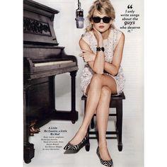 Glamour Editorial Taylor Talks, November 2010 Shot #5 ❤ liked on Polyvore