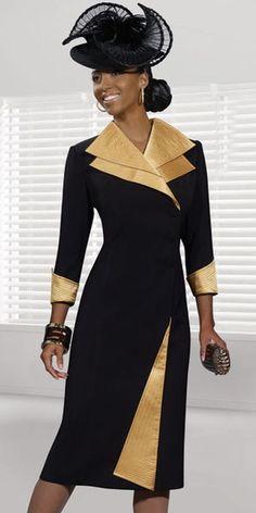 Donna Vinci 11176 Womens Church Dress at frenchnovelty.com