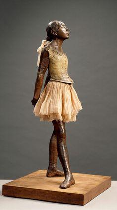 Petite danseuse de 14 ans dite aussi Grande danseuse habillée - Edgar Degas - 1881