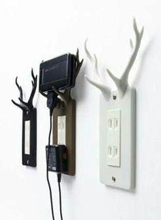 Deer rack holders... lol cool