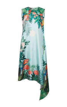 Silk Twill Dress by Rochas | Moda Operandi