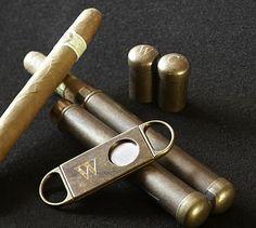 Cigar Case & Cutter #potterybarn
