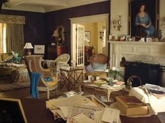In a Love It or Hate It poll, I asked for your opinion on the sets of the HBO movie Grey Gardens. You overwhelmingly loved them, just as I did. Grey Gardens Movie, Grey Gardens 2009, Gray Gardens, Edie Bouvier Beale, Edie Beale, New College, East Hampton, Garden S, Comfort Zone
