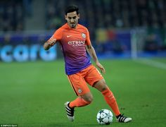 Ilkay Gundogan continued his form in midfield playing against away at Bundesliga opposition for the first time as a City player