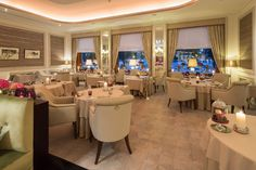 Restaurant   Fairmont Hotel Vier Jahreszeiten – das ultimative Luxus Hotel in Hamburg. See more: http://brabbucontract.com/