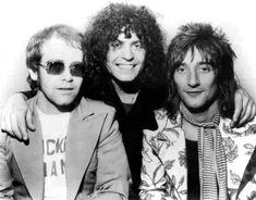 Marc Bolan, Elton John & Rod Stewart