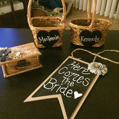 DIY wedding flower girl baskets and ring box Calla Lillies Wedding, Country Wedding Flowers, Bright Wedding Flowers, Vintage Wedding Flowers, Cheap Wedding Flowers, Wedding Flower Decorations, Flower Bouquet Wedding, Diy Wedding, Flowers Decoration
