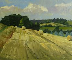 Box Valley Bales by Roy Connelly