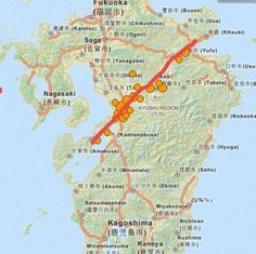 Is Kyushu Japan Splitting Apart? Evacuations have been ordered!