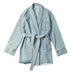 """@AsilioTheLabel """"Heff Denim Trench"""" 