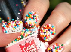 colorful candy nails
