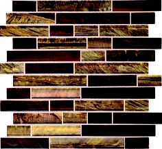 Daltile Tiger Eye Siberian Mosaic from SouthCypress.com.