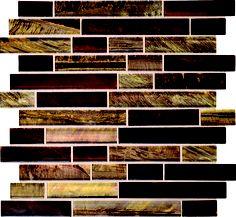 Daltile Tiger Eye Siberian Mosaic from SouthCypress.com.