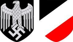 Helmet decals of the German army, 1939-45.
