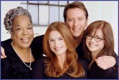 1994-2003 Touched by An Angel...another great show, never missed an episode..it starred Roma Downey, Della Reese, and Valerie Bertinelli (she is now on Hot in Cleveland)