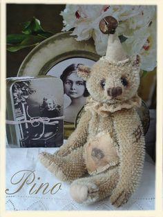 * Teddybär im Shabby-Look zum Nacharbeiten *
