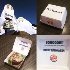 Burger King per Halloween si traveste da McDonald.