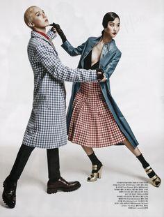 G-Dragon / Kwon Jiyong / Park Ji Hye / Bigbang / Kpop / Vogue Korea / August 2013 Fashion Shoot, Editorial Fashion, Fashion Poses, G Dragon Fashion, G Dragon Top, Bigbang G Dragon, Glamour Photo, Vogue Korea, Korean Fashion Trends