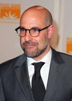 5296650f34 mens glasses bald head - Google Search Stanley Tucci