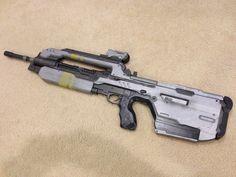 Halo 4 Full Size Replica BR85HB Battle Rifle Professionally Built Model Prop Gun | eBay
