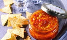Recept: Salsa z paprik báječná k masu i brambůrkům Salsa, Mexican, Ethnic Recipes, Food, Red Peppers, Eten, Meals, Salsa Music, Diet