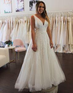 Wedding Dress Shopping at Malindy Elene in Tampa, FL (Anne Barge 'Francoise') Anne Barge, Wedding Dress Shopping, Formal Dresses, Wedding Dresses, Lace, Fashion, Dresses For Formal, Bride Dresses, Moda