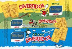 [1990] Biscoito Divertidos Snoopy