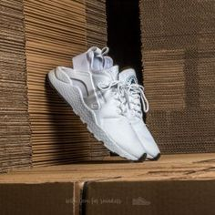 b1557ff4dd5086 Nike W Air Huarache Run Ultra White  White-White-Black Huarache Run