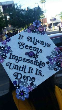 Graduation Cap 2017! #gradcap #Masters #GCU woo!!!