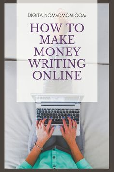 Leave your 9-5 job and learn how to make money writing online! Get started with these 10 incredible ideas. Make money blogging, becoming a freelance writer or copywriter, learn how to proofread, or write an eBook to make money! Online Careers, Copywriter, Blogging, Writing, Money, Ideas, Blog, A Letter, Writing Process