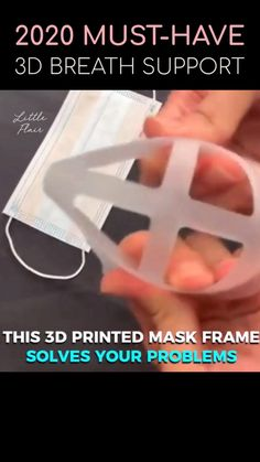Easy Face Masks, Diy Face Mask, 3d Printed Mask, Tapas, Cool Gadgets To Buy, Little Presents, 3d Prints, Cool Inventions, Useful Life Hacks