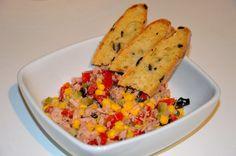 mundo de caty: La mia versione dell'insalata di tonno con Zuccato e Neri Sottoli